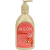 soaps and hand sanitizers: Jason Natural Products - Pure Natural Hand Soap Invigorating Rosewater - 16 fl oz