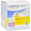 feminine hygiene: Natracare - Natural UItra Pads Organic Cotton Cover - Long - 10 Pack