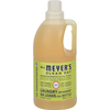 Mrs. Meyer's 2X Laundry Detergent - Lemon Verbana - Case of 6 - 64 oz HGR 355487