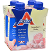 Atkins Advantage RTD Shake Strawberry - 11 fl oz Each / Pack of 4 HGR 0458182