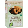 Tea Caffeine Free: Earth Mama Angel Baby - Organic Peaceful Mama Tea - Caffeine Free - 16 Tea Bags
