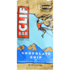 Clif Bar Organic Chocolate Chip - Case of 12 - 2.4 oz HGR 472167