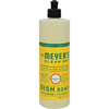 cleaning chemicals, brushes, hand wipers, sponges, squeegees: Mrs. Meyer's - Liquid Dish Soap - Honeysuckle - Case of 6 - 16 oz