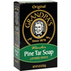 soaps and hand sanitizers: Grandpa's - Pine Tar Bar Soap - 4.25 oz