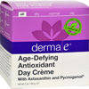 Derma E Age-Defying Day Creme with Astaxanthin and Pycnogenol - 2 oz HGR 577395