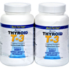 Absolute Nutrition Thyroid T-3 - 60 Capsules Each / Pack of 2 HGR 0602193