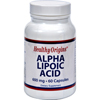 Healthy Origins Alpha Lipoic Acid - 600 mg - 60 Capsules HGR 0621631