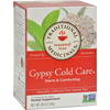Traditional Medicinals Gypsy Cold Care Herbal Tea - 16 Tea Bags - Case of 6 HGR 649707