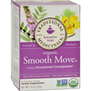 Traditional Medicinals Organic Smooth Move Herbal Tea - 16 Tea Bags - Case of 6 HGR 651000