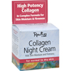 Creams Ointments Lotions Lotions: Reviva Labs - Collagen Night Cream - 1.5 oz