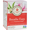 Traditional Medicinals Breathe Easy Herbal Tea - Caffeine Free - 16 Bags HGR 669234
