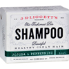 soaps and hand sanitizers: J.R. Liggett's - Old-Fashioned Bar Shampoo Jojoba and Peppermint - 3.5 oz