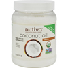 Condiments Oils: Nutiva - Extra Virgin Coconut Oil Organic - 54 fl oz