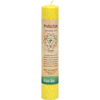 New Health & Wellness: Aloha Bay - Chakra Pillar Candle, Yellow - Protection