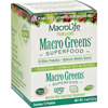 Supplements Green Foods: MacroLife Naturals - Macro Greens Original - 12 Packets - 4 oz