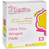 Maxim Hygiene Products Maxim Hygiene Natural Cotton Ultra Thin Winged Pads Daytime - 10 Pads HGR 0799759