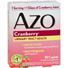 Condition Specific Yeast Level Maintenance: Azo - Cranberry Caps - 50 Caplets
