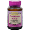 Gender Age Vitamins Womens Health: Only Natural - For Women Only - 30 Tablets