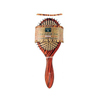 brush: Earth Therapeutics - Regular Lacquer Pin Cushion Brush with Tiger Stripe Design - 1 Brush