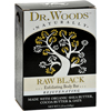 soaps and hand sanitizers: Dr. Woods - Bar Soap Raw Black - 5.25 oz