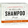 soaps and hand sanitizers: J.R. Liggett's - Shampoo Bar - Coconut and Argan - 3.5 oz