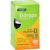 D Drops Vitamin 1000 IU - 180 Drops - .17 oz HGR 1167816