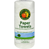 kitchen towels and napkins and napkin dispensers: Earth Friendly Products - Jumbo White Paper Towels 2 Ply - 1 Roll