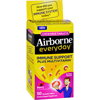 Airborne Everyday Chewable Multivitamin Tablets - Berry - 50 Count HGR 1611805