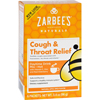 hgr: Zarbee's - Cough and Throat Relief Drink Mix - Daytime Supplement - 6 Packets