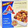 Atkins Trail Mix - Sweet and Salty - 1.34 oz - 5 Count - Case of 4 HGR 1701168