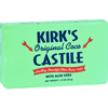 soaps and hand sanitizers: Kirk's Natural - Kirks Natural Bar Soap - Coco Castile - Aloe Vera - Travel Size - 1.13 oz