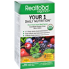 Realfood Organics Daily Nutrition - Organic - Your 1 - 60 Tablets HGR 0656306