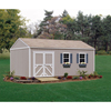 Storage Sheds: Handy Home Products - Premier Series - Columbia 12' x 24' Storage Building Kit