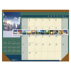 House Of Doolittle House of Doolittle™ Landscapes™ 100% Recycled 100% Recycled Monthly Desk Pad Calendar HOD 168