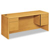 HON HON® 10700 Series Kneespace Credenza with Three-Quarter Height Pedestals HON 10743CC