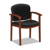 hon chairs: HON® 2111 Invitation® Reception Series Wood Guest Chair
