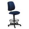 Executive Task Chairs High Back Swivel Tilt Chairs: HON® 7700 Series Task Stool with Adjustable Footring