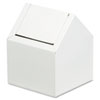 Sanfacon-personal-care: Hospital Specialty Co. Double Entry, Swing Top Floor Receptacle