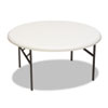 Tables: Iceberg IndestrucTables Too™ 1200 Series Round Folding Table
