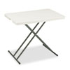 IV Supplies Admin Sets: Iceberg IndestrucTables Too™ 1200 Series Personal Folding Table