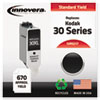 Innovera Innovera Remanufactured 8345217 (30XL), High-Yield Ink, Black IVR 5217
