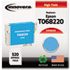 Innovera Innovera Remanufactured High-Yield T068220 (68) Ink, 520 Page-Yield, Cyan IVR 68220