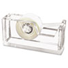 Kantek Kantek Clear Acrylic Tape Dispenser KTK AD60