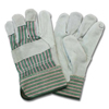 Safety Zone Leather Palm Work Gloves - Mens X Large SFZ GLP1-XL-B1C