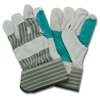 hand protection: Safety Zone - Leather Palm Work Gloves - Men's