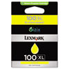 Lexmark Lexmark 14N1071 (100XL) High-Yield Ink, 600 Page-Yield, Yellow LEX 14N1071