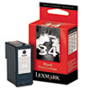 Lexmark Lexmark 18C0034 (34) High-Yield Ink, 475 Page-Yield, Black LEX 18C0034