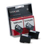 Lexmark Lexmark 18C0533 Ink, 200 Page-Yield, 2/Pack, Black LEX 18C0533