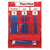 Learning Resources Learning Resources® Counting and Place Value Pocket Chart LRN LER2416