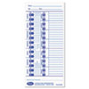 Lathem Lathem® Time Cards for Lathem® E-Series Time Recorders LTH E100